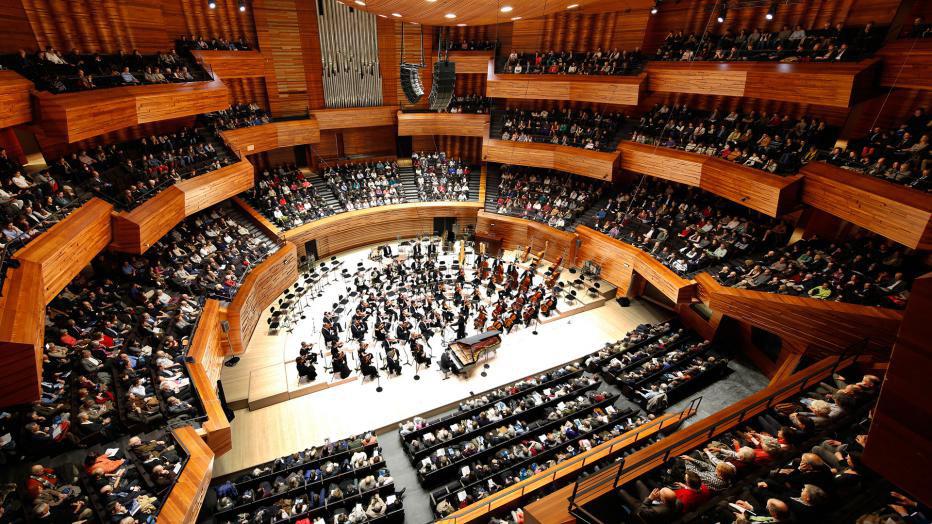 Auditorium de la Maison de la radio - Architecte : AS Architecture Studio. Photo : G.F. Bergere