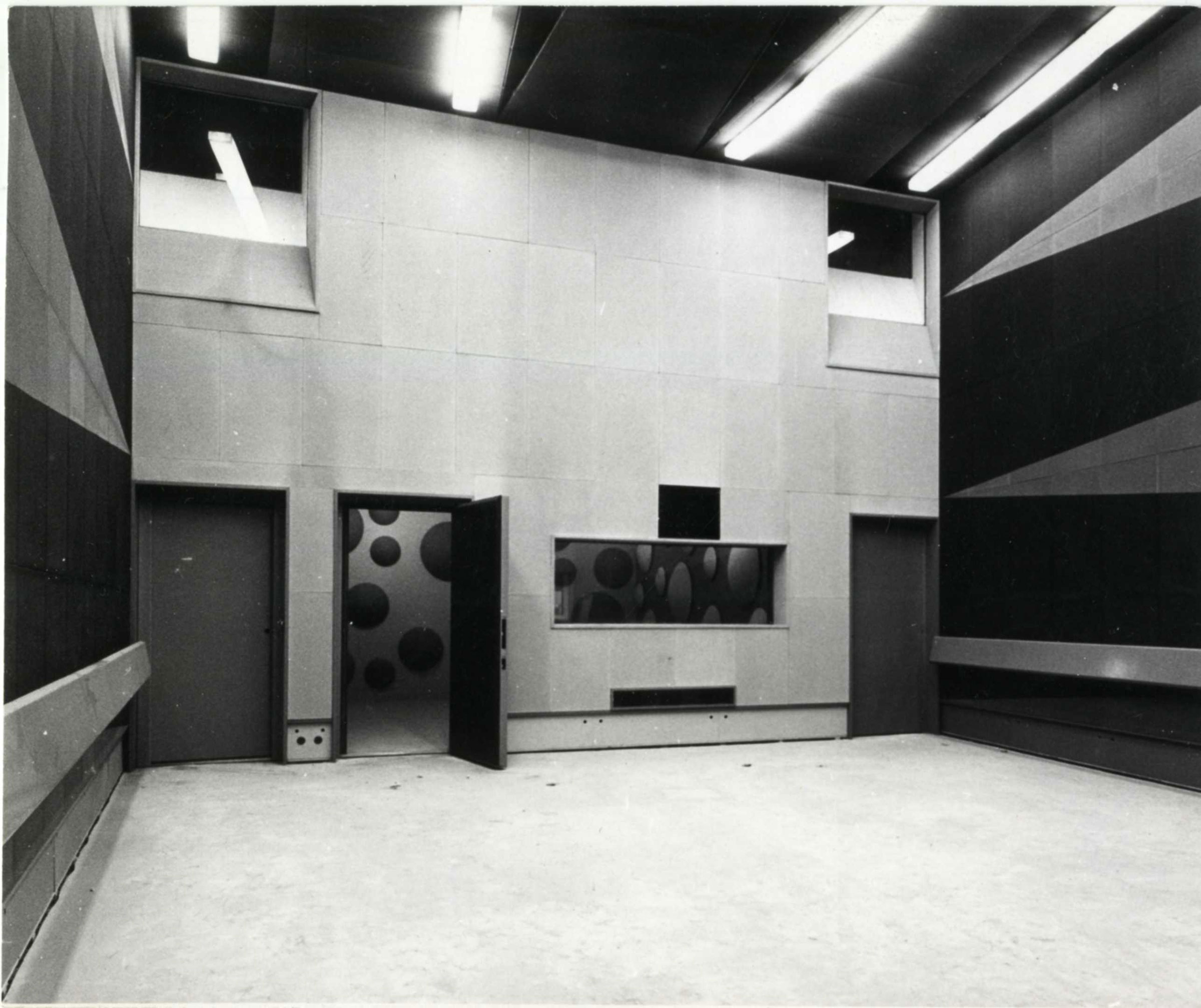 Studio 116 en 1963 / Archives écrites de Radio France
