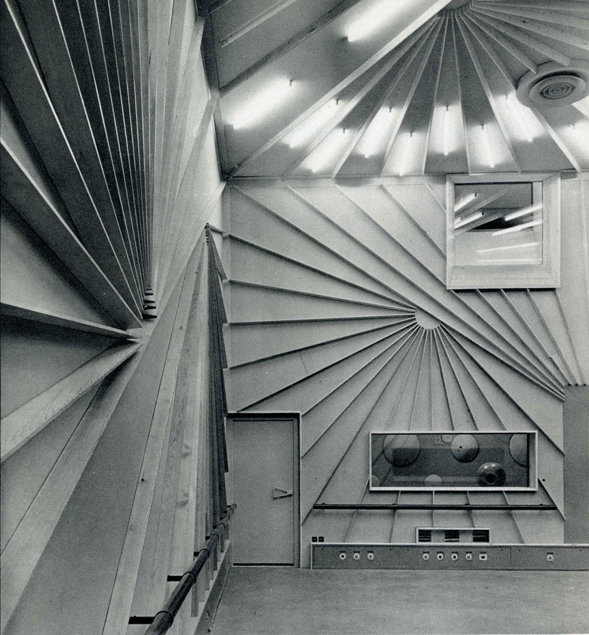 Studio 117 datant de 1963 / Archives écrites de Radio France